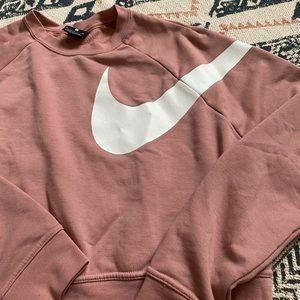 Dusty pink Nike sweater